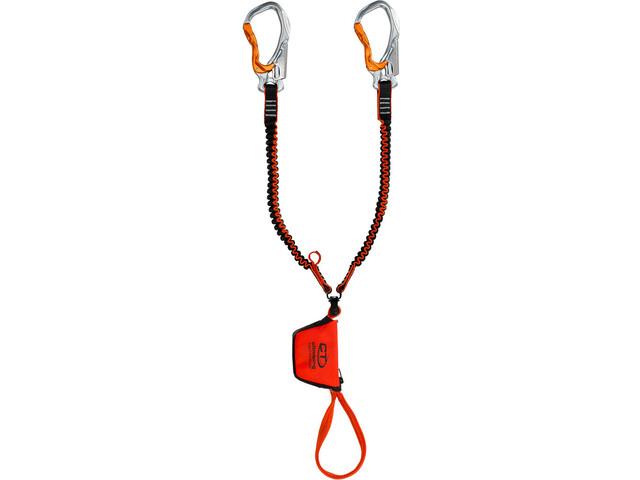 Climbing Technology Hook-IT Slider Twister Avec dispositif torsion, bicolour